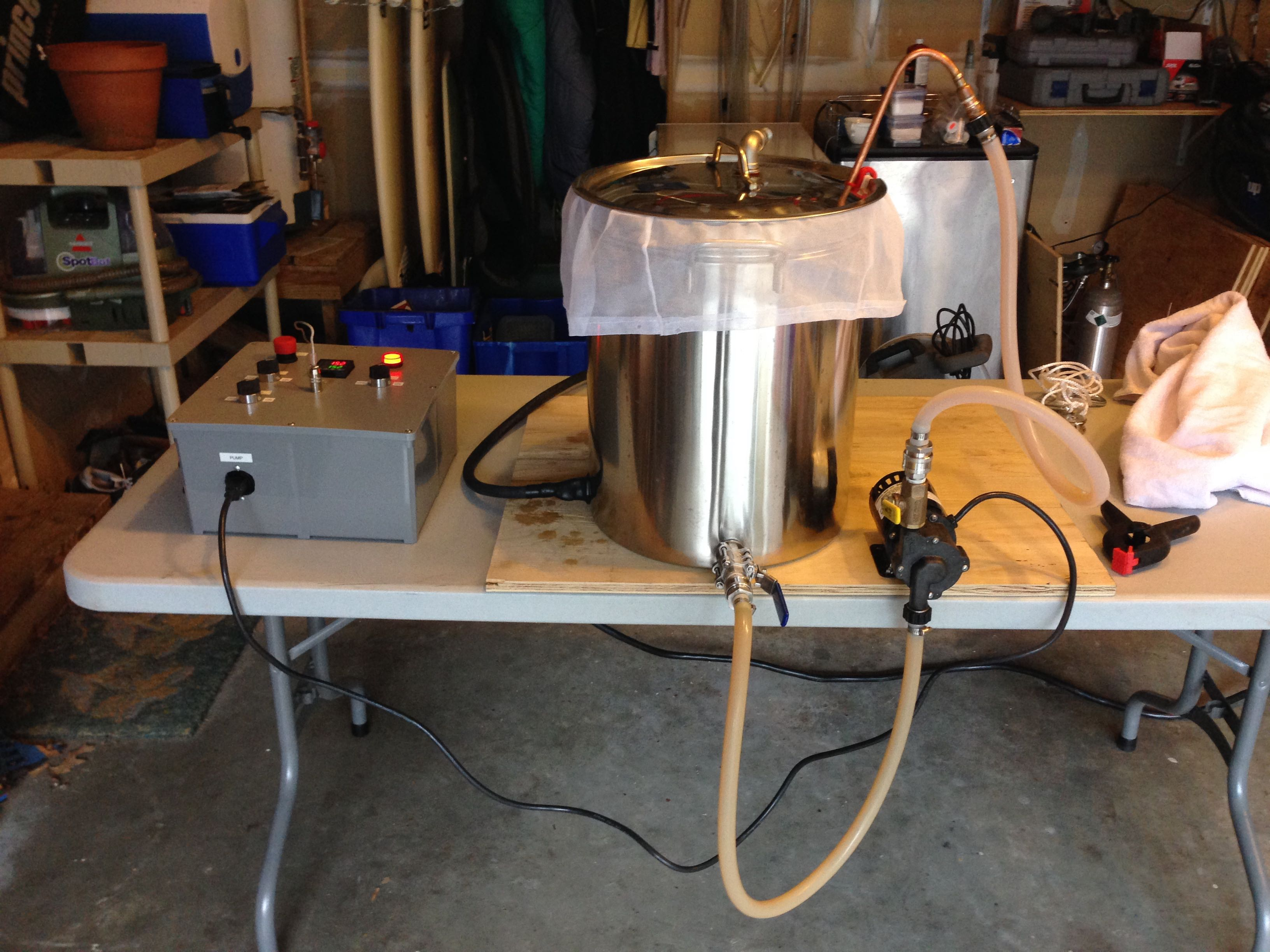 March 2015 Hommel Homebrew Wire 240v Electric Brew Pot Controller Home Forums Im Basically Assuming A Bunch Of Stuff Will Go Wrong So Ive Decided To Small Batch With Cheap And Simple Beer That Show Flaws Maybe Style